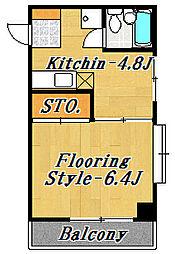 ルミナスマンション[2階]の間取り