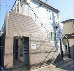 東京都中野区大和町1丁目の賃貸アパートの外観
