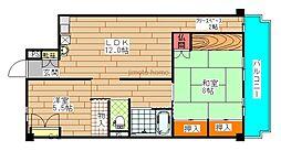 プラザ末吉橋[9階]の間取り