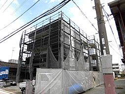 大阪府堺市堺区百舌鳥夕雲町1丁の賃貸アパートの外観