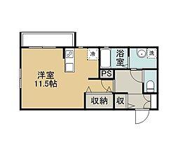 Comfort House 山の手[1階]の間取り