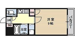 ファミーユSETA[402号室号室]の間取り
