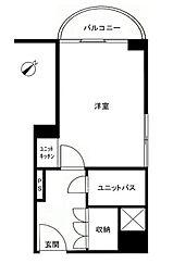 ライオンズマンション歌舞伎町[201号室号室]の間取り