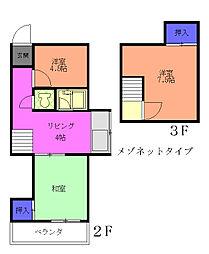 フジハウス[2階]の間取り