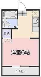メゾンMK豊成[305号室]の間取り