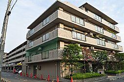 ユニライフ新田辺[4階]の外観