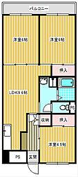 サンコーポラス南港26号棟[207号室]の間取り