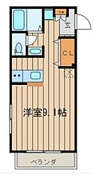 マ・メゾン風雅[1階]の間取り