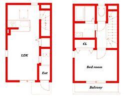 藤沢市大鋸新築アパート[2階]の間取り