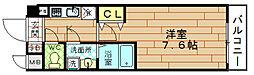 ジュネーゼグラン福島EbiE[5階]の間取り