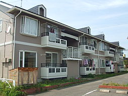 新潟県新発田市緑町2丁目の賃貸アパートの外観