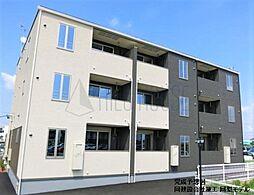 埼玉県川越市大字山田の賃貸アパートの外観