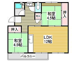 北花田駅 4.5万円