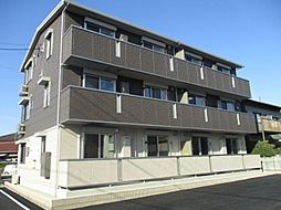 愛知県安城市新明町の賃貸アパートの外観