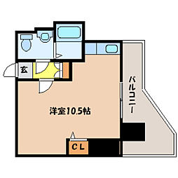 北海道札幌市中央区北五条東2丁目の賃貸マンションの間取り