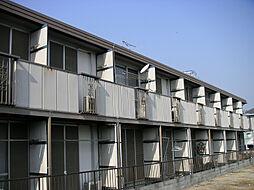 宇山コーポA棟[1階]の外観