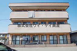 岡山県倉敷市安江の賃貸マンションの外観