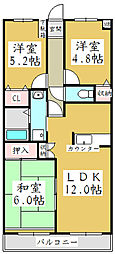 モア・メゾン[3階]の間取り