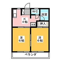 MR松風[2階]の間取り
