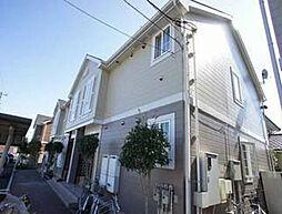 千葉県野田市五木新町の賃貸アパートの外観