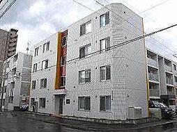 キューブ二十四軒4・4[3階]の外観