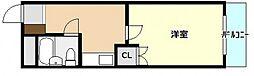 ミチルーム長束[1階]の間取り