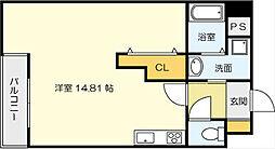 サンシャインIII[8階]の間取り