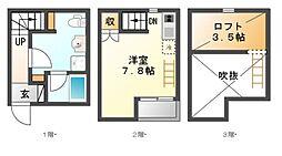 LE COCON豊田A棟[1階]の間取り