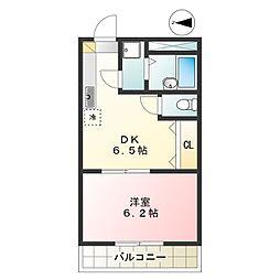 ファミーユトキワ[205号室]の間取り