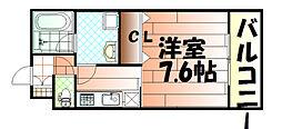 矢島ビル[202号室]の間取り