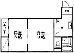 SGハイツ[3階]の間取り