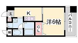 長澤文具ビル[5階]の間取り