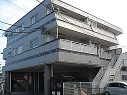 東京都青梅市東青梅3丁目の賃貸マンションの外観