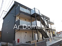 千葉県松戸市上本郷の賃貸マンションの外観