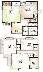 [一戸建] 神奈川県相模原市中央区由野台2丁目 の賃貸【/】の間取り