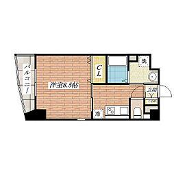さとみマンションII[7階]の間取り