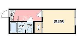 細江マンション[105号室]の間取り