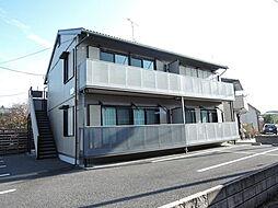 栃木県宇都宮市駒生2丁目の賃貸アパートの外観