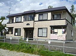 北海道札幌市清田区清田六条3丁目の賃貸マンションの外観