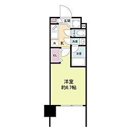 レジディア新大阪[1312号室]の間取り