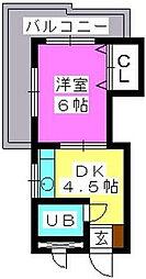 J・Oビル[3階]の間取り