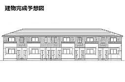 大阪府四條畷市蔀屋新町の賃貸アパートの外観