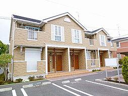 茨城県龍ケ崎市川原代町の賃貸アパートの外観