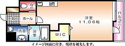 KDXレジデンス舟入幸町[502号室]の間取り