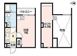 Soleil中川 ソレイユナカガワ[2階]の間取り