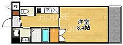 ライラック(Lilac)[203号室号室]の間取り