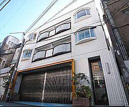 京都府京都市東山区渋谷通東大路西入鐘鋳町の賃貸マンションの外観