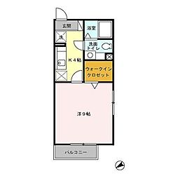 アネックス2[2階]の間取り