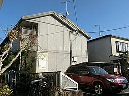 滋賀県大津市仰木の里東8丁目の賃貸アパートの外観
