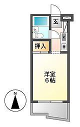 メゾン・ド・カンパーニュ[4階]の間取り